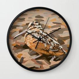 American Woodcock Wall Clock