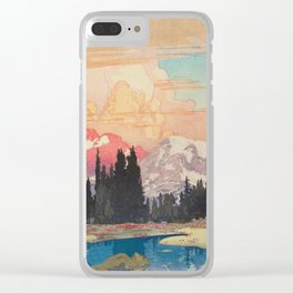 Storms over Keiisino Clear iPhone Case