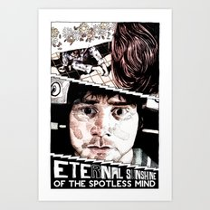 Eternal Sunshine of the Spotless Mind by Aaron Bir Art Print