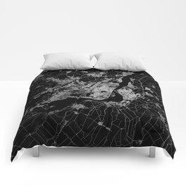 montreal map Comforters