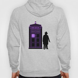 Tardis With The Fourth Doctor Hoody