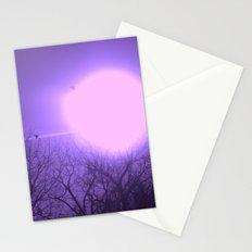 amethyst sky Stationery Cards