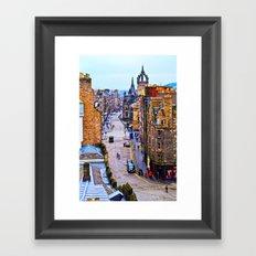 Edinburgh Royal Mile Framed Art Print
