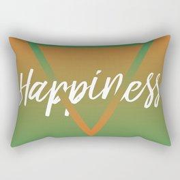 Happiness - Feelings series Rectangular Pillow