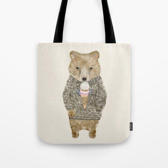 sundae bear Tote Bag