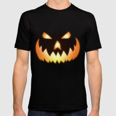 Halloween LARGE Mens Fitted Tee Black