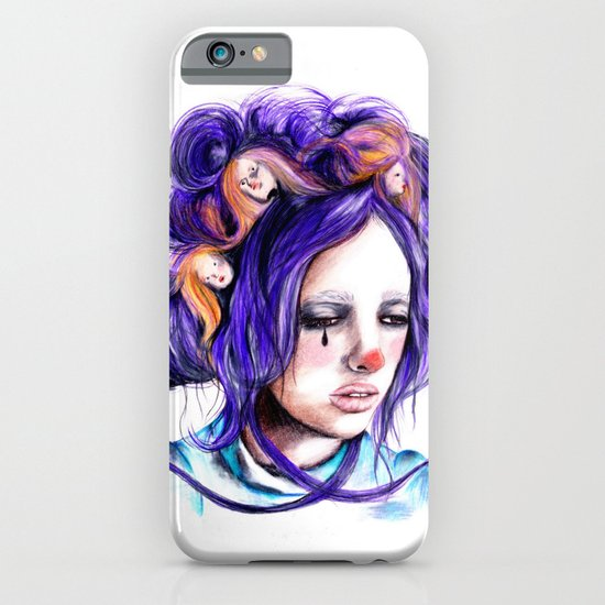 Dolls in her hair, Forest of Dolls Collection iPhone & iPod Case
