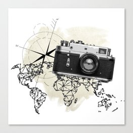 World photo Canvas Print