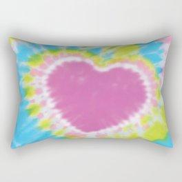 Love Tye Dye 2 Rectangular Pillow