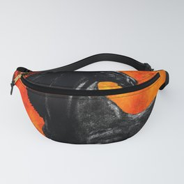 HORSE MOON AND DRAGONFLY VISIONS Fanny Pack
