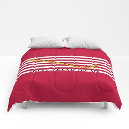 First Navy Jack of the United States of America flag Comforters
