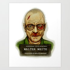 Breaking Bad. Art Print