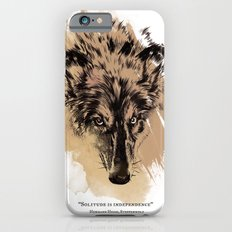 Solitude is independence iPhone 6s Slim Case