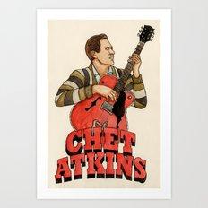 Chet Atkins Art Print