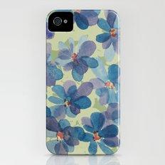 Floral Watercolor iPhone (4, 4s) Slim Case