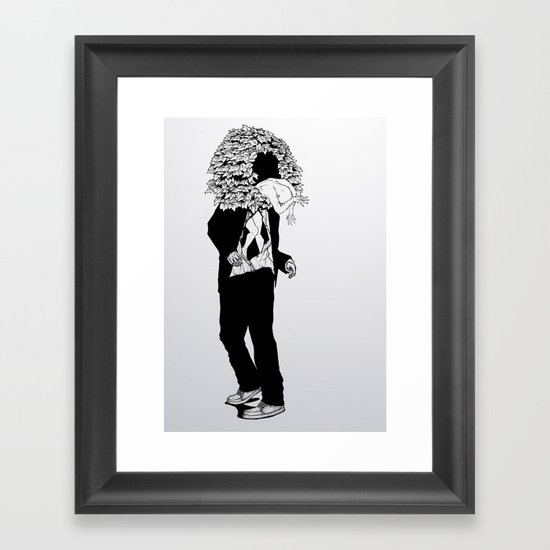 home sweet home 01 Framed Art Print