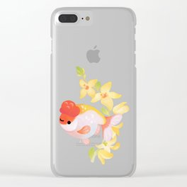 Ranchu and Forsythias Clear iPhone Case