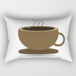 Cup of coffee Rectangular Pillow