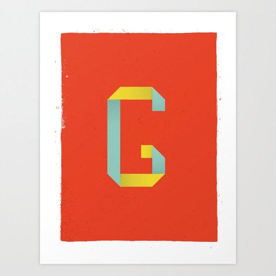 G 001 Art Print