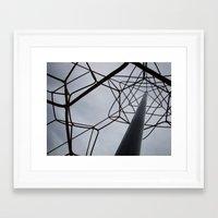 matrix Framed Art Prints featuring matrix. by S.Simona
