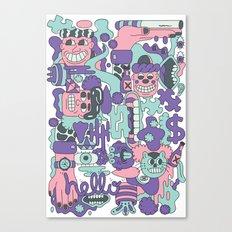 Character Mash Up Canvas Print