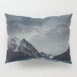 Lake Louise Winter Landscape Pillow Sham