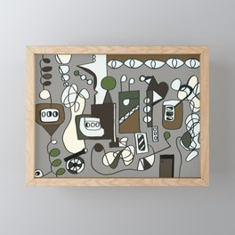ENGINEERING Framed Mini Art Print