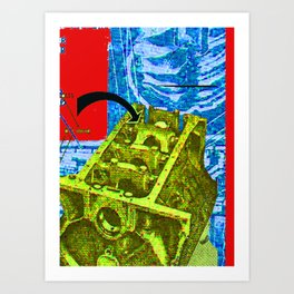 Machinatron Art Print