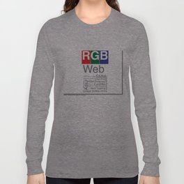 RGB  Long Sleeve T-shirt