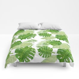Tropical Leaf Mix Comforters