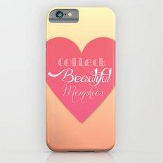 Collect Beautiful Memories  Slim Case iPhone 6s