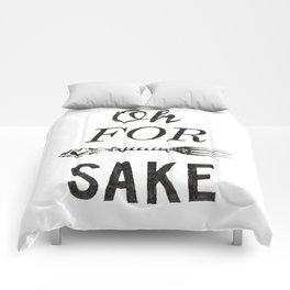 Oh For Fork Sake! Comforters