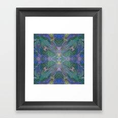 Internal Kaleidoscopic Daze- 16 Framed Art Print