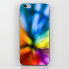color explosion iPhone & iPod Skin