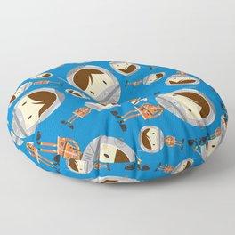 Cute Cartoon Astronaut Pattern Floor Pillow