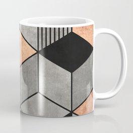 Concrete and Copper Cubes 2 Coffee Mug