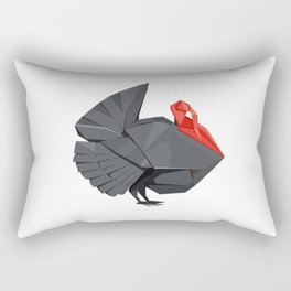 Origami Turkey Rectangular Pillow