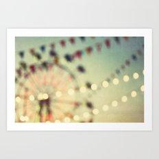 carnival dreams Art Print