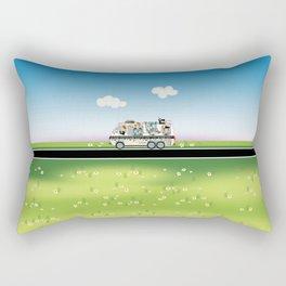 Quiltmobile Rectangular Pillow