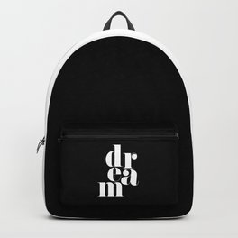 Dream Motivational Quote Backpack