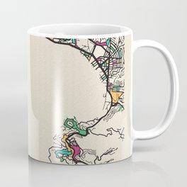 Colorful City Maps: Acapulco, Mexico Coffee Mug