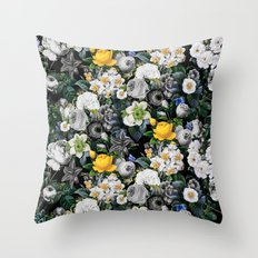 Night Forest V Throw Pillow