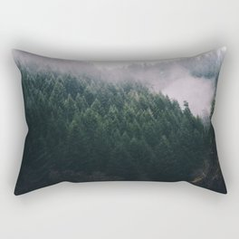Forest Fog V Rectangular Pillow