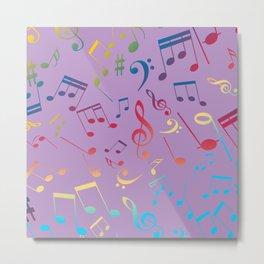 Musical Notes 7 Metal Print