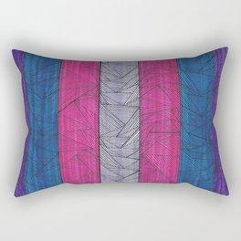 Up Down Up  Rectangular Pillow