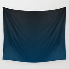 Cerulean Ombre Wall Tapestry