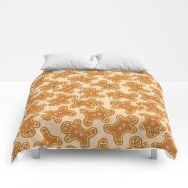 Gingerbread Man Cookies Comforters