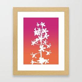 Native Orchid Framed Art Print