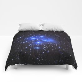 the Pleiades or Seven Sisters in Taurus Comforters
