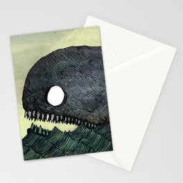 Monstrous Whale Stationery Cards